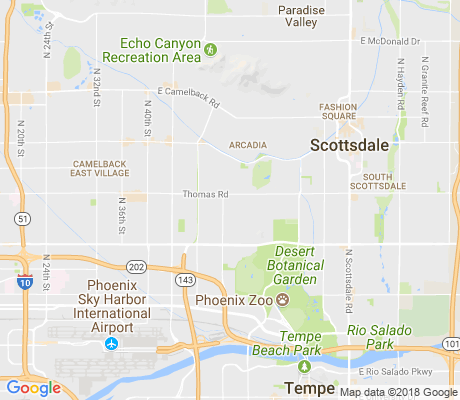map of Orangedale Place apartments for rent
