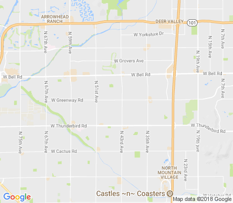 map of Sunburst Farms apartments for rent