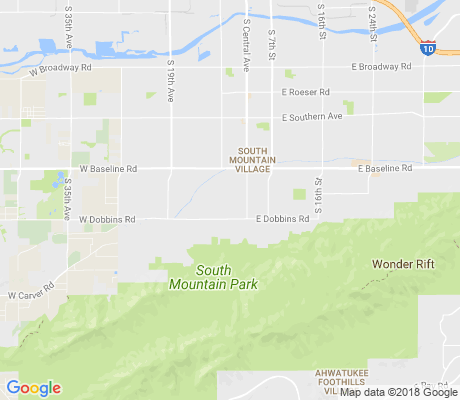 map of Valley View Manor apartments for rent