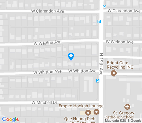 map of Westwood Estates apartments for rent