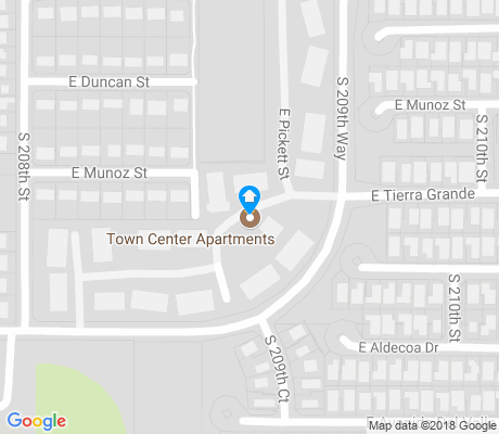 map of The Villages at Queen Creek apartments for rent