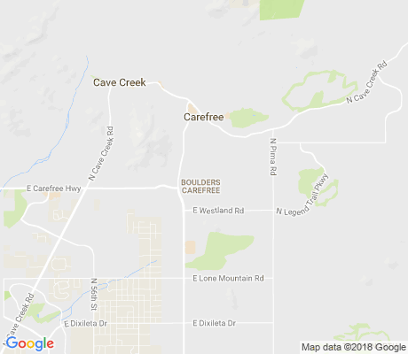 map of Boulders Carefree apartments for rent