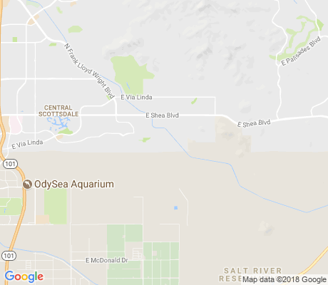 map of Paradise Heights apartments for rent