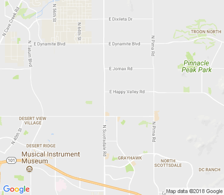 map of Pinnacle Reserve apartments for rent