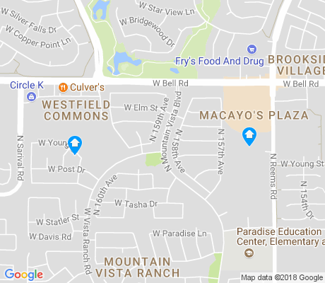 map of Mountain Vista Ranch apartments for rent