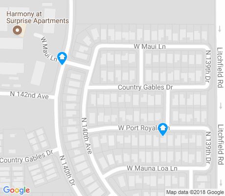 map of Sierra Verde apartments for rent
