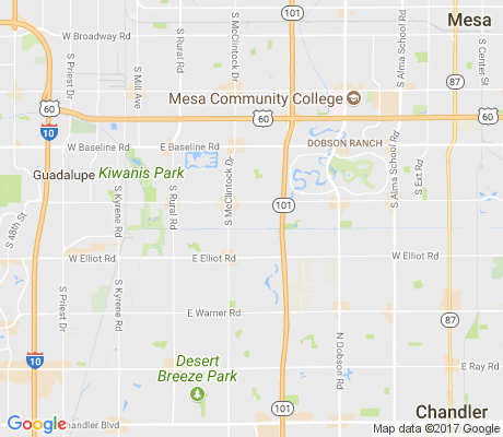map of Camelot Village apartments for rent