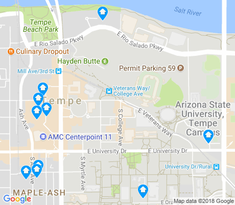 Downtown Tempe Apartments for Rent and Rentals Walk Score