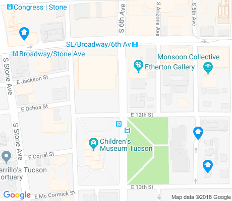 map of Armory Park apartments for rent