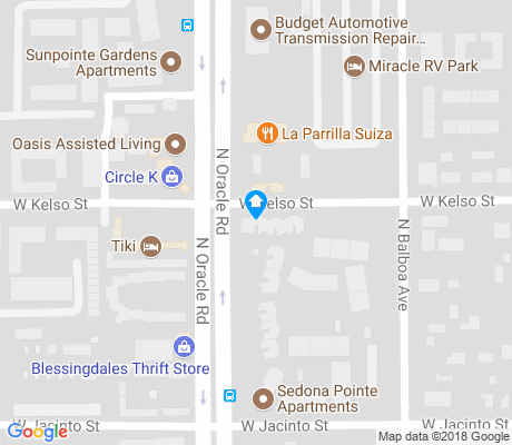 map of Balboa Heights apartments for rent