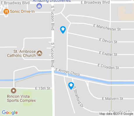 map of Broadmoor-Broadway apartments for rent