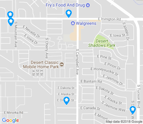 map of Cherry Avenue apartments for rent