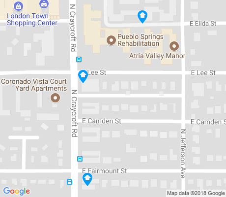 map of Harlan Heights apartments for rent