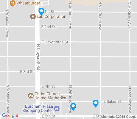 map of Mitman apartments for rent
