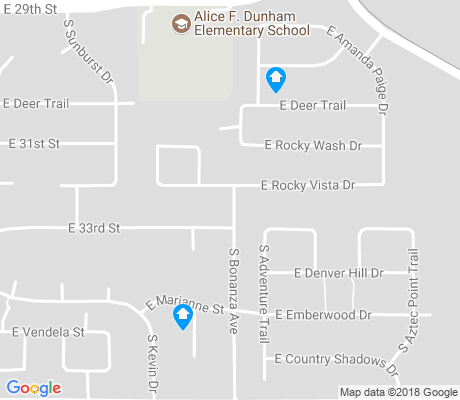 map of Old Spanish Trail apartments for rent