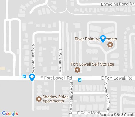 map of Rillito apartments for rent