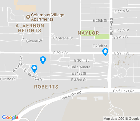 map of Roberts apartments for rent