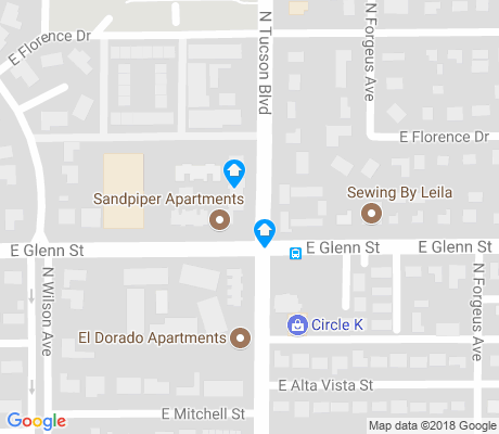 map of Shaheen Estates apartments for rent
