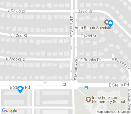 map of Stella Mann apartments for rent