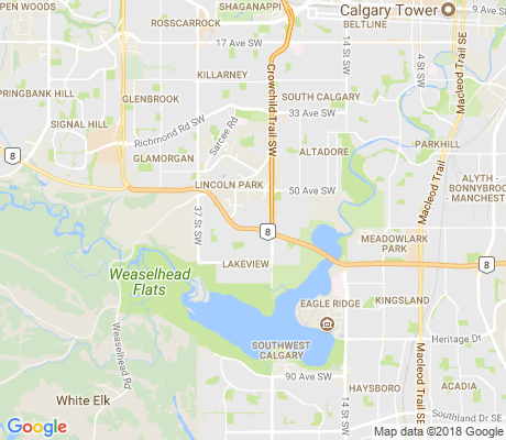 map of Cfb - Lincoln Park Pmq apartments for rent
