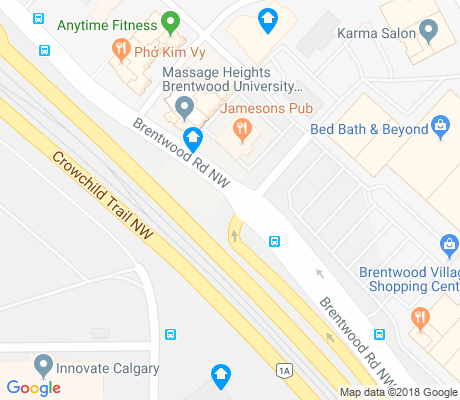 map of Charleswood apartments for rent