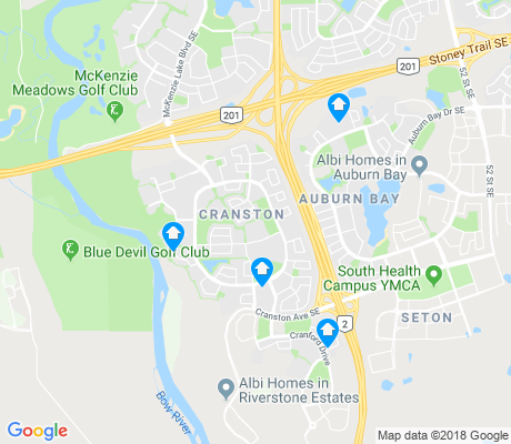 map of Cranston apartments for rent