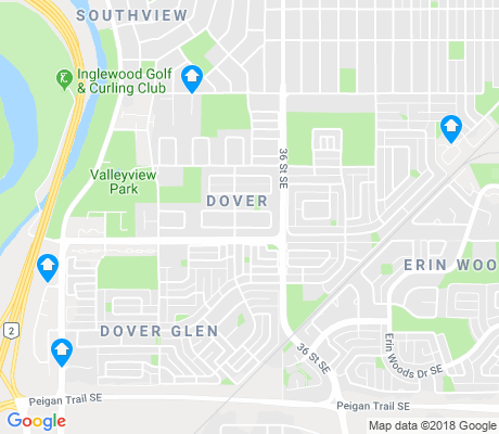 map of Dover apartments for rent