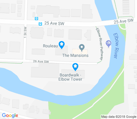 map of Erlton apartments for rent