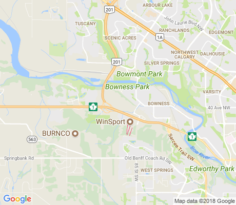 map of Greenwood/greenbriar apartments for rent