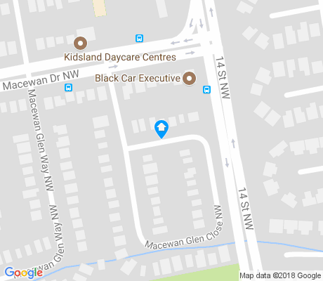 map of Macewan Glen apartments for rent