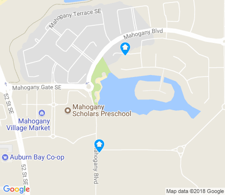 map of Mahogany apartments for rent