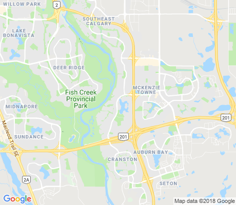 map of Mckenzie Lake apartments for rent
