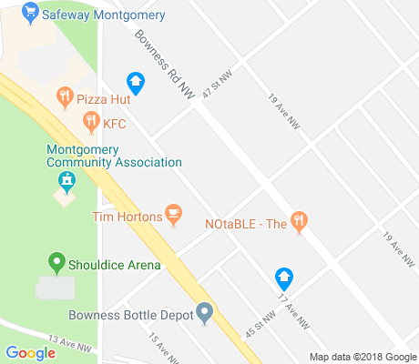 map of Montgomery apartments for rent