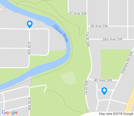 map of Parkhill apartments for rent