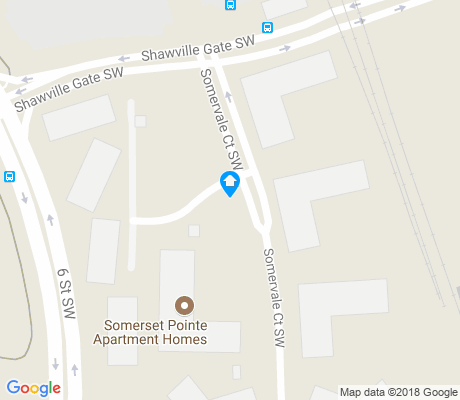 map of Shawnessy apartments for rent