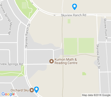 map of Skyview Ranch apartments for rent