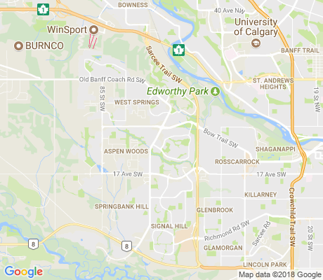 map of Strathcona Park apartments for rent