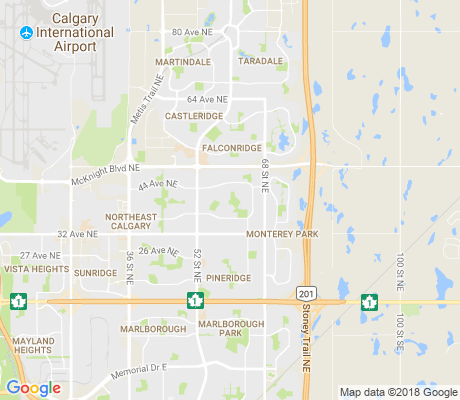 map of Temple apartments for rent