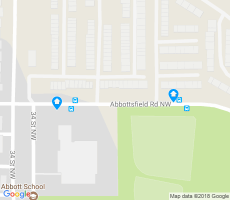 map of Abbottsfield apartments for rent