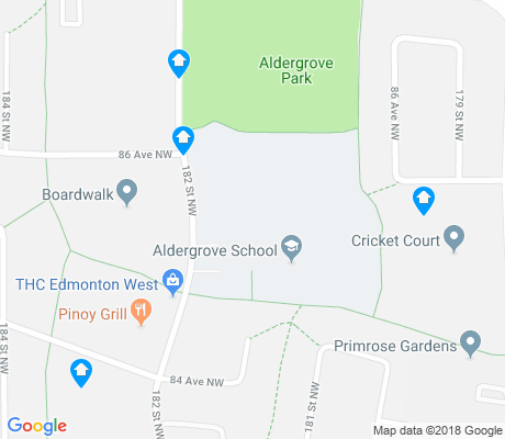 map of Aldergrove apartments for rent