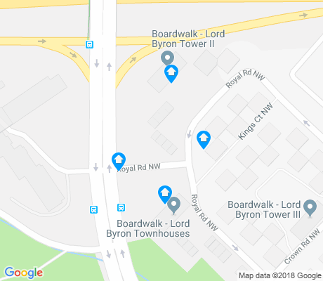 map of Aspen Gardens apartments for rent