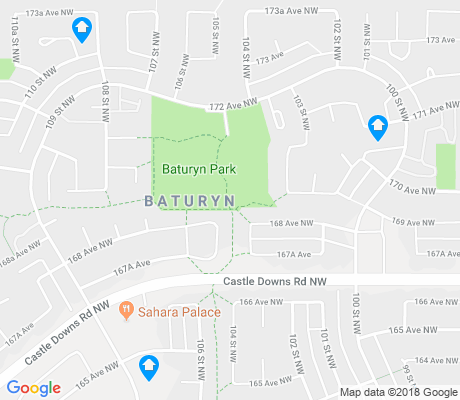 map of Baturyn apartments for rent