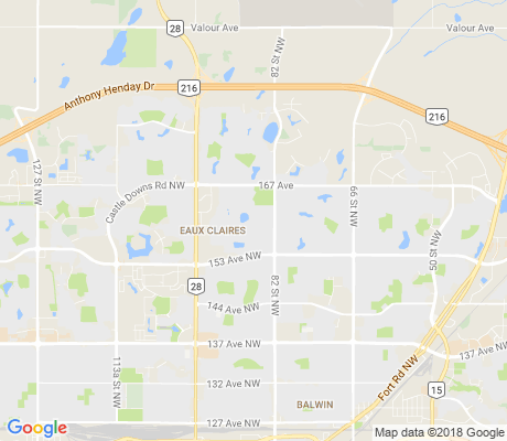 map of Belle Rive apartments for rent
