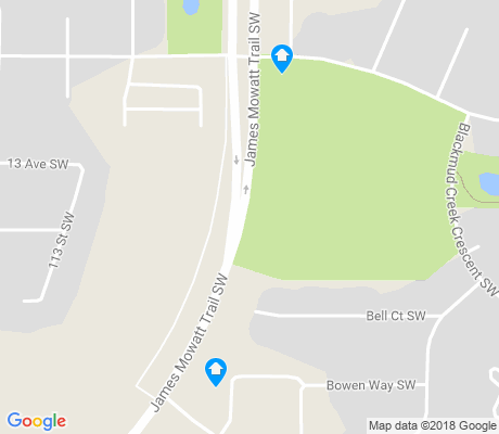 map of Blackmud Creek apartments for rent