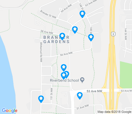 map of Brander Gardens apartments for rent