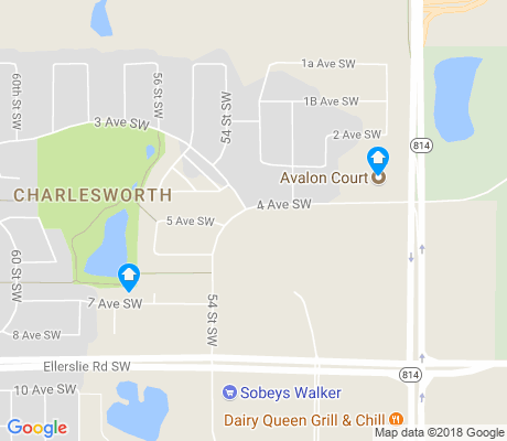 map of Charlesworth apartments for rent