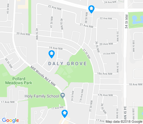 map of Daly Grove apartments for rent