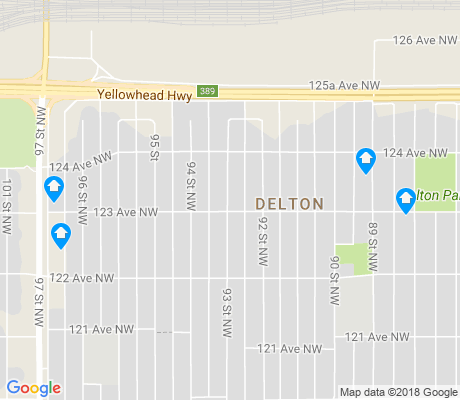 map of Delton apartments for rent