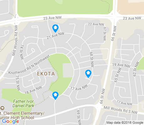 map of Ekota apartments for rent