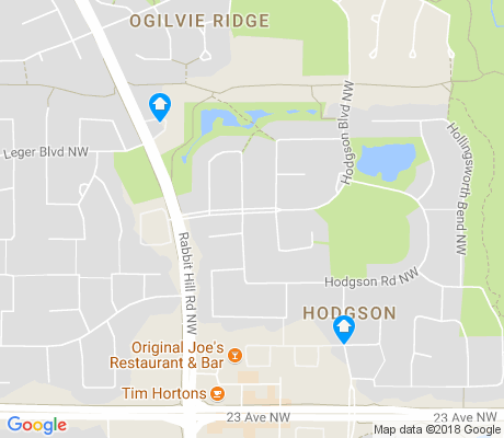 map of Hodgson apartments for rent